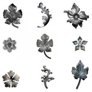 Листья и цветы